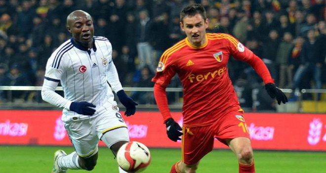 Kayserispor 1 - 1 Fenerbahçe